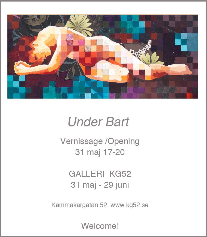 Galleri KG52 Stockholm Utställning Catrine Näsmark
