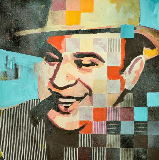 Al Capone Alcatraz portrait Catrine Näsmark