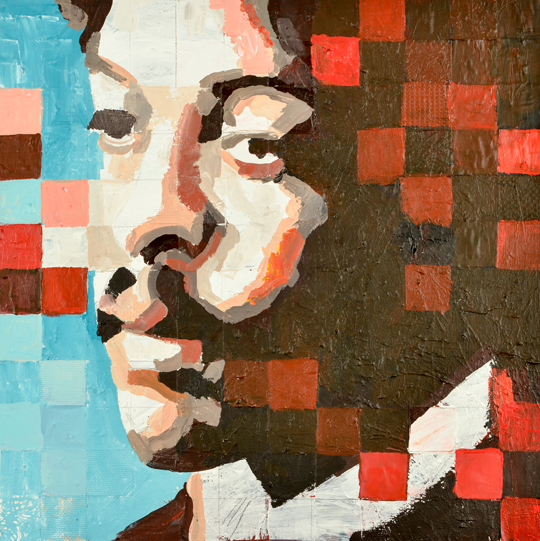 Isak Dawitt portrait by Catrine Näsmark