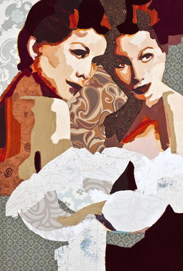 Two Like konst av Catrine Näsmark