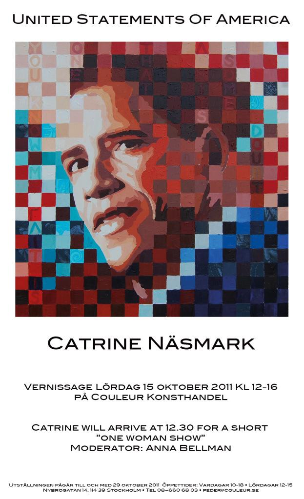 Couleur Konsthandel Stockholm Näsmark Obama