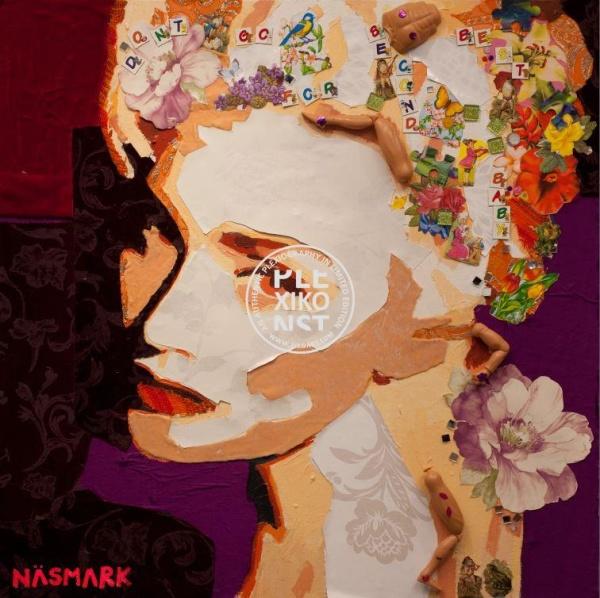 Catrine Näsmark Plexiografi Madonna