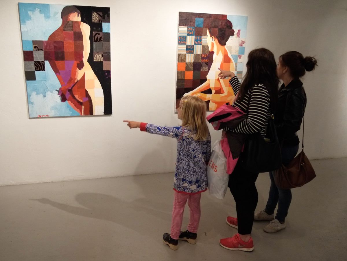 """Photos from the opening """"UnderBart"""""""