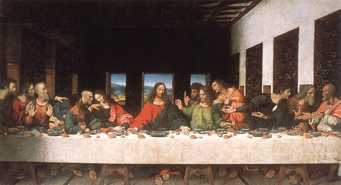 Sista måltiden. Original version.