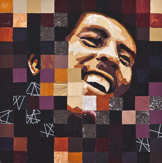Bob Marley portrait by Catrine Nasmark