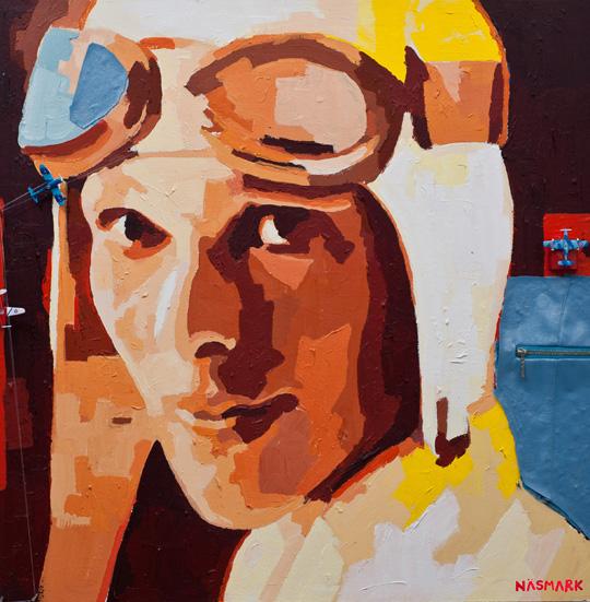 Catrine Näsmark portrit Earhart
