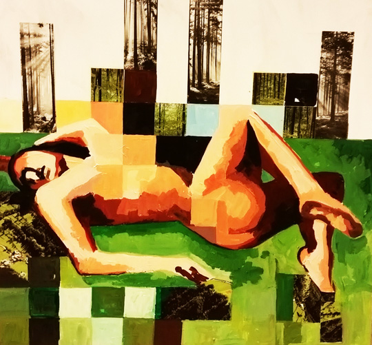 Woods by Näsmark Underbar Nude Konst