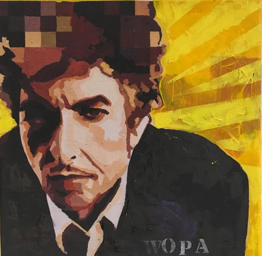 Bob Dylan reproduktion konst online butik Catrine Näsmark
